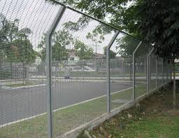 The Drawing Of Anti Climb Fence Installation Including Anti Security Fence Security Fencing High Security