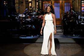 Tiffany Haddish During The Opening Monologue Of SNL On November 11 2017