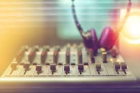 Sound Recording Studio Mixing Desk In House Mini