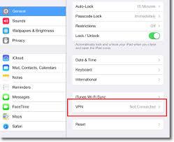 Apple iPad PPTP VPN Setup
