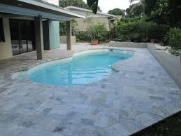 Mexican Shell Stone Tile by Travertine Pool Deck Travertine Pavers For Pools Deck