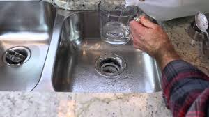 Garbage Disposal Backing Up Into 2nd Sink by How To Clean A Garbage Disposal 4 Quick Tips By Home Repair