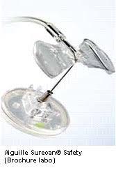 chambre implantable d馭inition cathéter à chambre implantable mise en place de l aiguille à