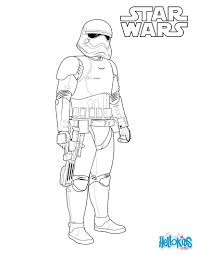 First Order Stormtrooper Coloring Pages Hellokids Com Throughout