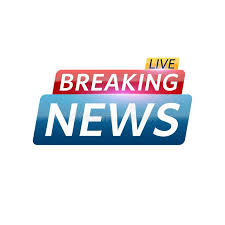 Download Breaking News Live Abstract Red Blue Banner With White Text Background