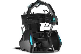 Acer's $14,000 Predator Thronos Air Gaming Chair Is Ready To ... Gaming Chair With Monitors Surprising Emperor Free Ultimate Dxracer Official Website Mmoneultimate Gaming Chair Bbf Blog Gtforce Pro Gt Review Gamerchairsuk Most Comfortable Chairs 2019 Relaxation Details About Adx Firebase C01 Black Orange Currys Invention A Day Episode 300 The Arc Series Red Myconfinedspace Fortnite Akracing Cougar Armor Titan 1 Year Warranty