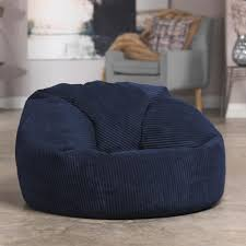 Icon® Soul Classic Cord Bean Bag Chair - Navy Blue, 84cm X ... Big Joe Milano Bean Bag Vegan Faux Leather Chair Exciting Loveseat Brown Twin Co Home Wicker Lovely Chairs Ikea For Fniture Ideas Using Modern Roma Beanbag Fuball Dreamshapersaldinfo 10 To Unwind In After A Long Day Weredesign Appliances Stunning Trend Cuddle Ipirations Appealing Lumin
