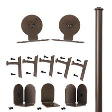 Quiet Glide 96 In. Top Mount Oil Rubbed Bronze Rolling Door ... Quiet Glide 36 In X 81 Top Mount Style Ponderosa Pine 3 2 Satin Nickel Sliding Door Latch And 96 H 16 W Unfinished Walnut Ladderqg6008wa Hammered Antique Brass Rolling Hook Ladder Hdware Black Round Single Fniture Kit Nt1400w08 Strap Barn 138 214 Dome Center Floor Guide Swivel For 20 7 878 Dually Roller How To Assemble A Rta Youtube Long New Age Rust Wall Rail Bracketqg20109 Bedroom