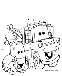 Cars The Movie Coloring Pages AZ
