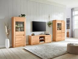 premium collection by home affaire wohnwand burani set 3 tlg teilmassives holz kaufen otto