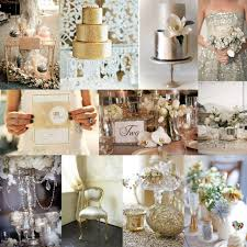 Wedding Theme Ideas Metallics