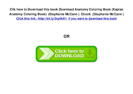 6 Clik Here To Download This Book Anatomy Coloring Kaplan