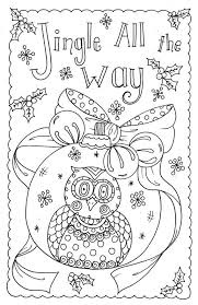 OWL CHRISTMAS CARDS TO COLOR 4 PACK Create Your Own Christmas Cards You Be The