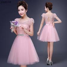 online get cheap pink dress bridesmaid aliexpress com alibaba group