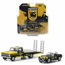 100 Ford Truck Games GREENLIGHT 164 1969 SHELBY COBRA WITH TRUCK World