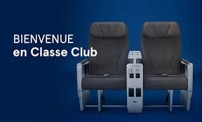 choisir la classe club pour un confort supérieur air transat