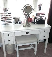 appealing vanity desk with mirror for home design medium size of