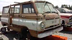 Junkyard Treasure 1969 Dodge A100 Sportsman Van