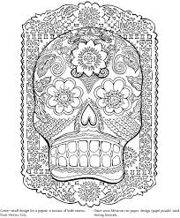 Free Coloring Book Mexican Folk Art Pages On Pictures Kids