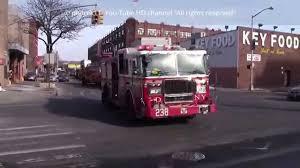 100 Fire Trucks Youtube FDNY Trucks Responding Brooklyn New York 2015 HD YouTube