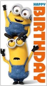Happy Birthday Send this funny Minion bday meme to your loved ones who likes minions today