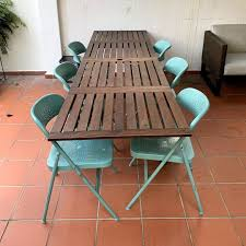 Outdoor Table - Extendable - Wood, Furniture, Tables ...