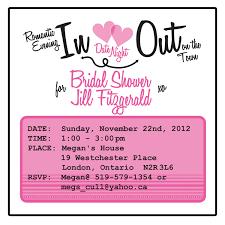 Kitchen Tea Themes Ideas by Bridal Shower Invitation Date Night Theme 25 50 00 Via Etsy