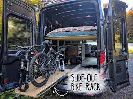 Introduction How To Build A Slide Out Bike Rack In Camper Van Conversion