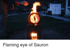 ff flaming eye of sauron funny meme on me me