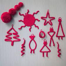 kit pompons tricotin jeu de mailles décorations de noël jeu de