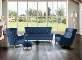 petrol blue sofa living room caseconrad