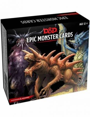 Dungeons & Dragons Spellbook Epic Monster Card Game