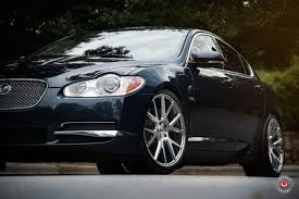 Amazing Dark Blue Jaguar XF Taken to Another Level with
