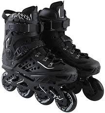 heddk neue berufs freestyle inline skates stiefel durable pu