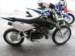 2009 Kawasaki KLX110 Monster Energy Dirt Bike For Sale On 2040 Motos