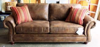 Leather Or Microfiber Sofa Great Broyhill Ideas Sofas And Sectionals Extra Long Slipcover