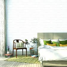 Vinyl Self Adhesive Wallpaper White Brick Target