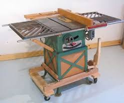 Cabinet Table Saw Mobile Base by Homemade Mobile Workbench Google Search Workshop And Tools
