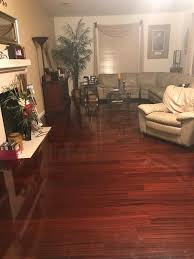 Santos Mahogany Flooring Home Depot by Home Legend High Gloss Santos Mahogany 3 8 In T X 4 3 4 In W X
