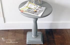 diy pedestal accent table remodelaholic bloglovin u0027