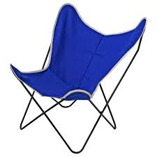 Replacement Slings For Outdoor Chairs Australia by Steele Butterfly Sling Chair Cobalt Steele Canvas Basket Corp