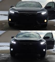 replacement led fog lights for 2016 honda civic touring 2016