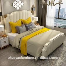 luxus schlafzimmer set möbel könig größe moderne italienische neueste einstellbare bett designer möbel set leder luxus bett buy beige leder kopfteil