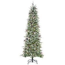 Hobby Lobby Pre Lit Led Christmas Trees by Christmas Skinnys Tree Image Inspirations Greens Martha Stewart