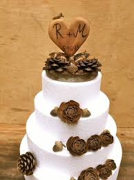 Rustic Wedding Cake Decorations Country Sweet