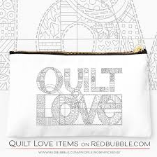 Coloring Book Image Of QUILT LOVE By Robin Pickens Available Now On REDBUBBLE