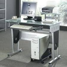 desk side desk cpu holder china deluxe and modern tempered glass