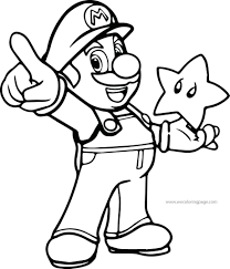 Mario And Peach Coloring Pages To Print Super Page 4u Bowser Large Size