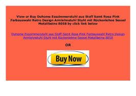 best price duhome esszimmerstuhl aus stoff samt rosa pink