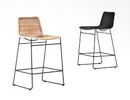 100 Tuckey Furniture Mark Wicker Stool C607 3D Model